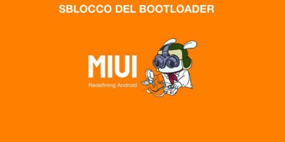 sblocco bootloader